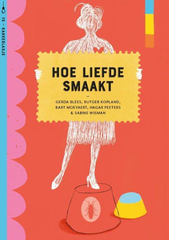 Boek cover Kakkerlakjes poëzie 15 -   Hoe liefde smaakt (set van 6) van Gerda Blees (Hardcover)
