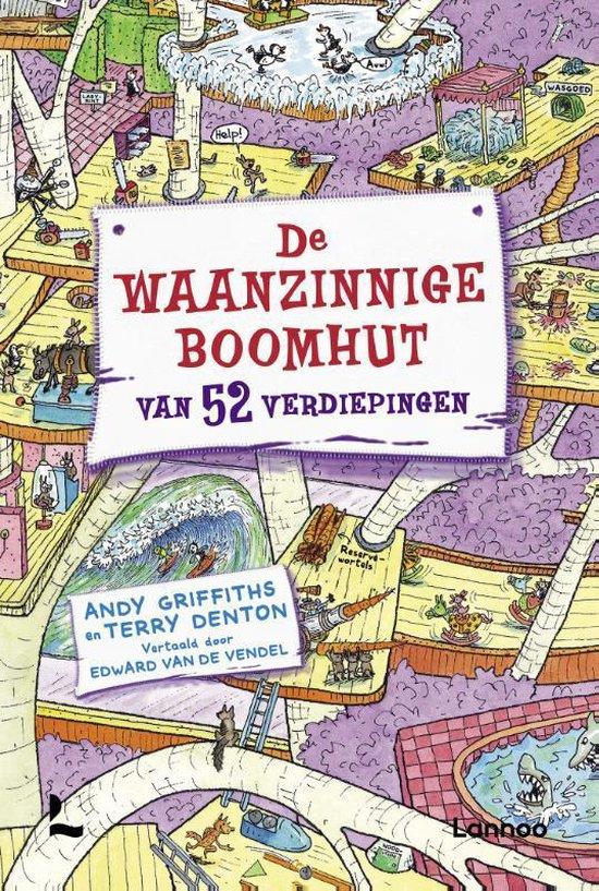 Boek cover De waanzinnige boomhut 4 - De waanzinnige boomhut van 52 verdiepingen van Andy Griffiths (Hardcover)