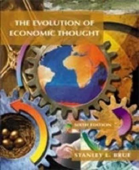 Boek cover The Evolution of Economic Thought van Stanley L. Brue (Hardcover)