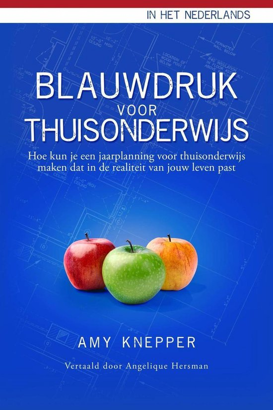 Boek cover Blauwdruk voor Thuisonderwijs van Amy Knepper (Onbekend)