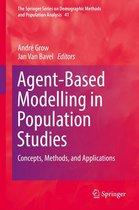 Boek cover Agent-Based Modelling in Population Studies van