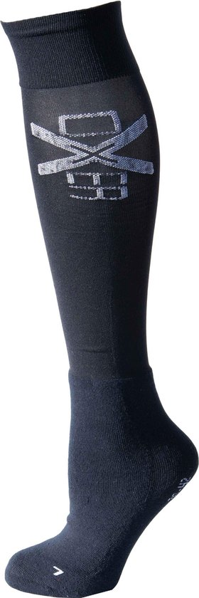 RelaxPets - Oxer Socks - Marineblauw - Maat 36-42 - 2 Paar - Unisex - Cushion Foot