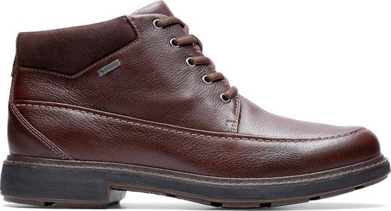 Clarks - Herenschoenen - Un TreadOnGTX2 - G - dark brown leather - maat 9