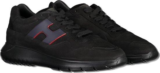 Hogan Sneaker Zwart  - Maat 40.5 - Heren - Herfst/Winter Collectie - Leer