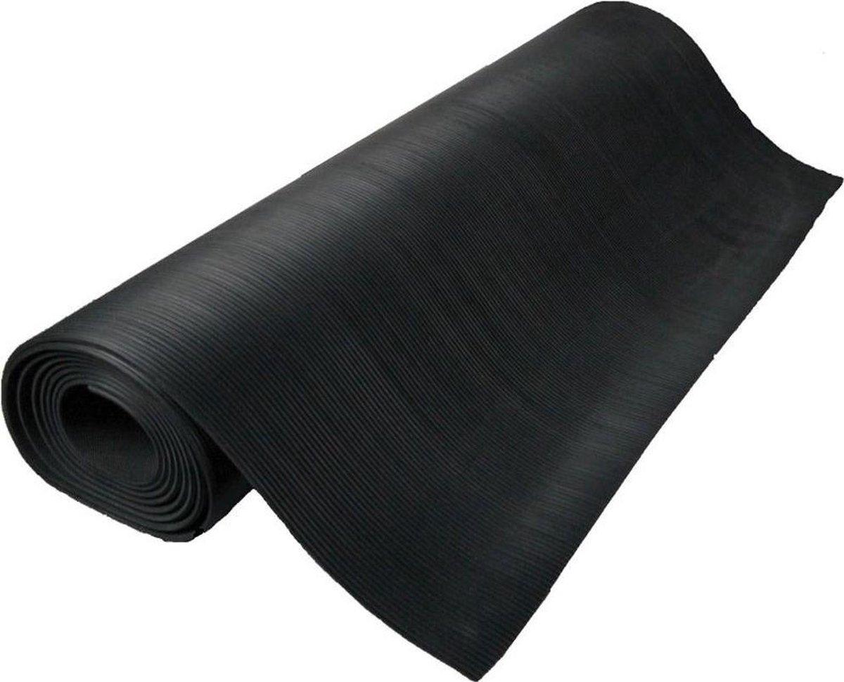 BULL'S Dartmat Rubber 250x60 cm - Zwart