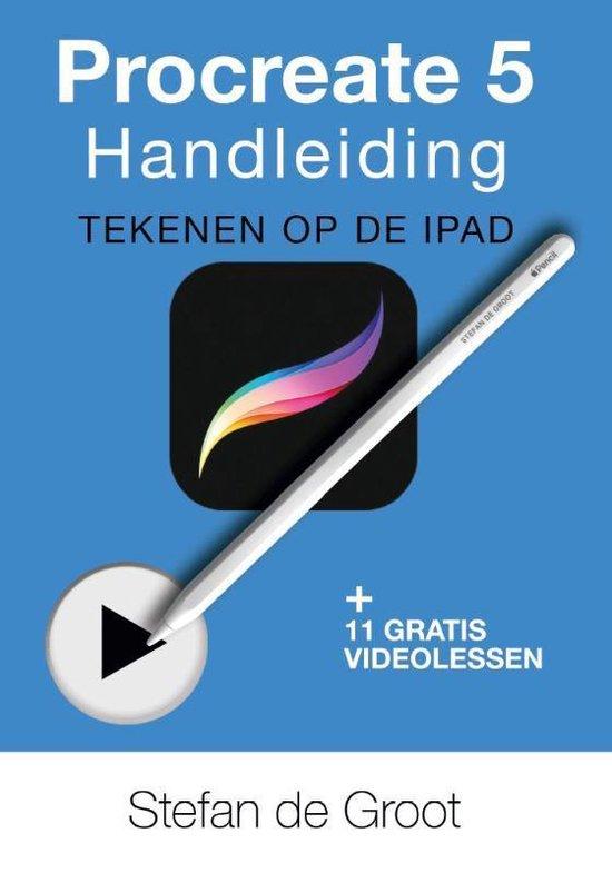 Boek cover Procreate 5 Handleiding van Stefan de Groot (Paperback)