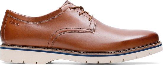 Clarks - Herenschoenen - Bayhill Plain - H - tan leather - maat 10,5