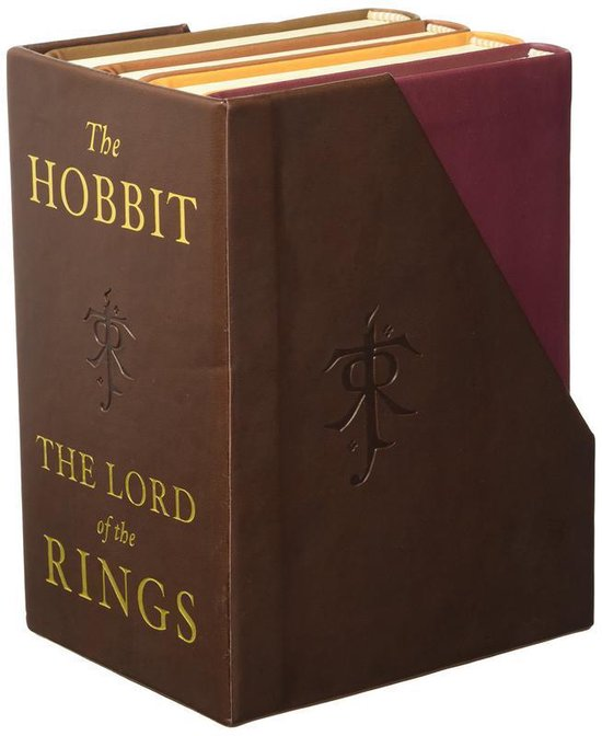 Boek cover Hobbit and the lord of the rings: deluxe pocket boxed set van j. r. r. tolkien (Onbekend)