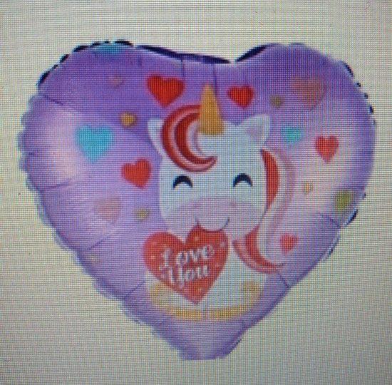 hart ballon Unicorn