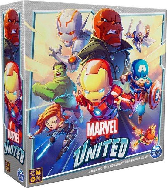 Thumbnail van een extra afbeelding van het spel Spin Master Games Marvel United, coöperatief strategisch superheldenkaartspel, voor volwassenen en kinderen vanaf 8 jaar
