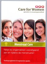 Care for Women Menstrual Care - 30 Capsules - Voedingssupplement