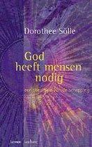 Boek cover God heeft mensen nodig van Dorothee Sölle