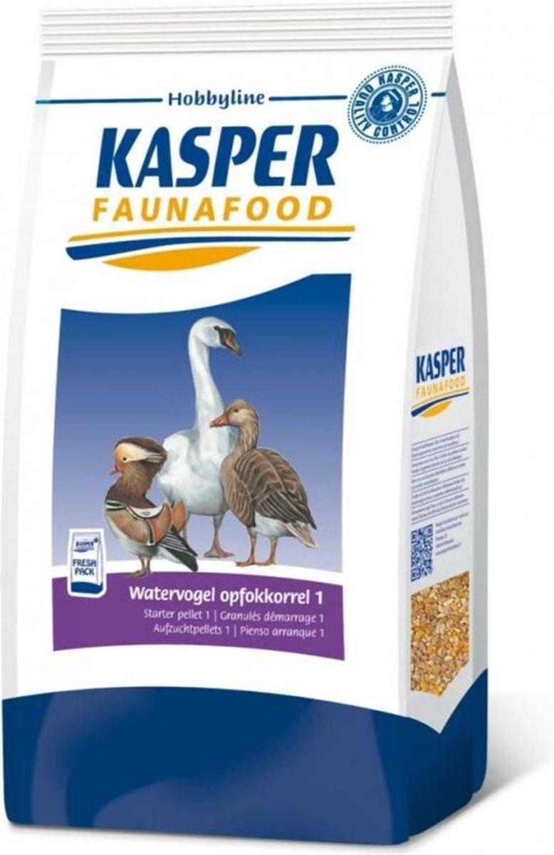 Kasper Faunafood Watervogel Opfokkorrel 1 - Watervogel - Volledig voer - 4 kg