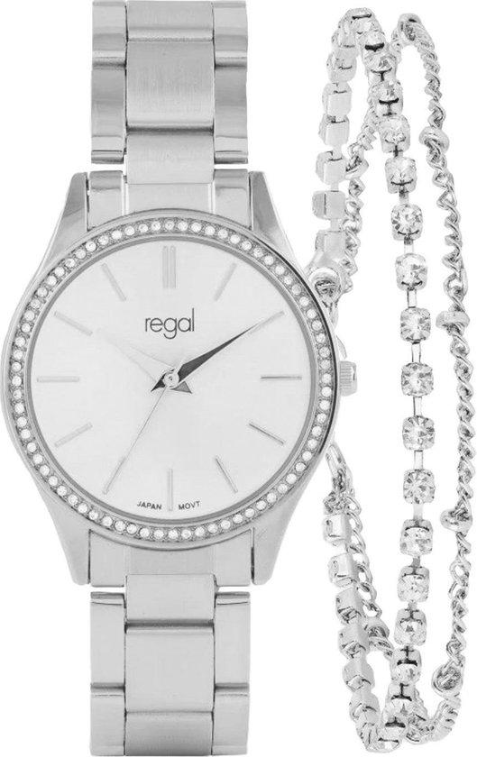 Regal horloge met armband in cadeaudoosje