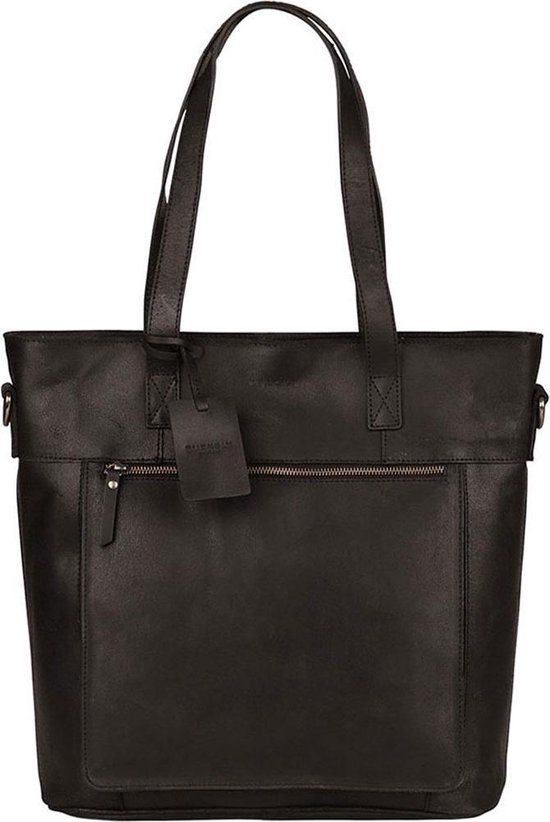 BURKELY Mayfair laptoptas - 15 inch - Zwart