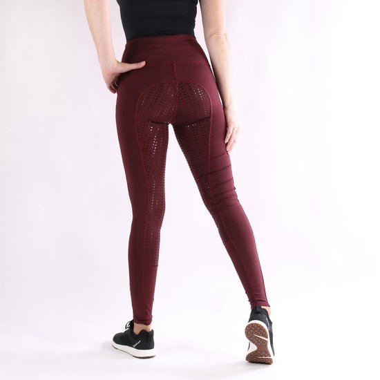 Epplejeck Rijlegging  Illustris Siliconen - Dark Red - 40
