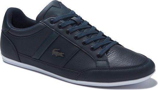 Lacoste Chaymon BL 1 CMA Heren Sneakers - Navy/White - Maat 40