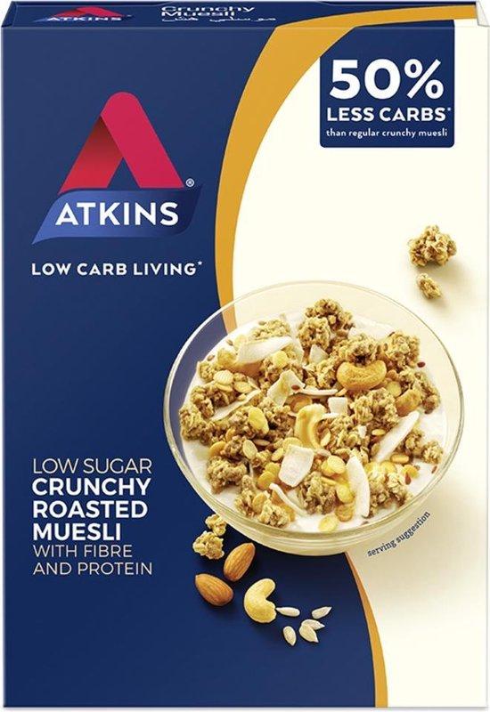 Atkins Crunchy Muesli Maaltijdvervanger - 6 x 325 gram
