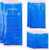 relaxdays hot cold pack - koud warm kompres - gel pack - cold pack - hot pack - set van 8