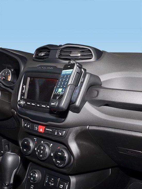 Houder - Kuda Jeep Renegade 2015-2019 Kleur: Zwart