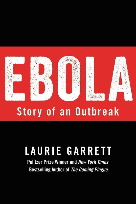 Boek cover Ebola van Laurie Garrett (Onbekend)