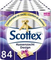 Scottex toiletpapier - Kussenzacht Design - 84 rollen