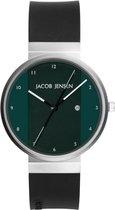 Jacob Jensen horloge JACOB JENSEN NEW SERIES 715 Ø 35 mm 715 - Silver - Analog