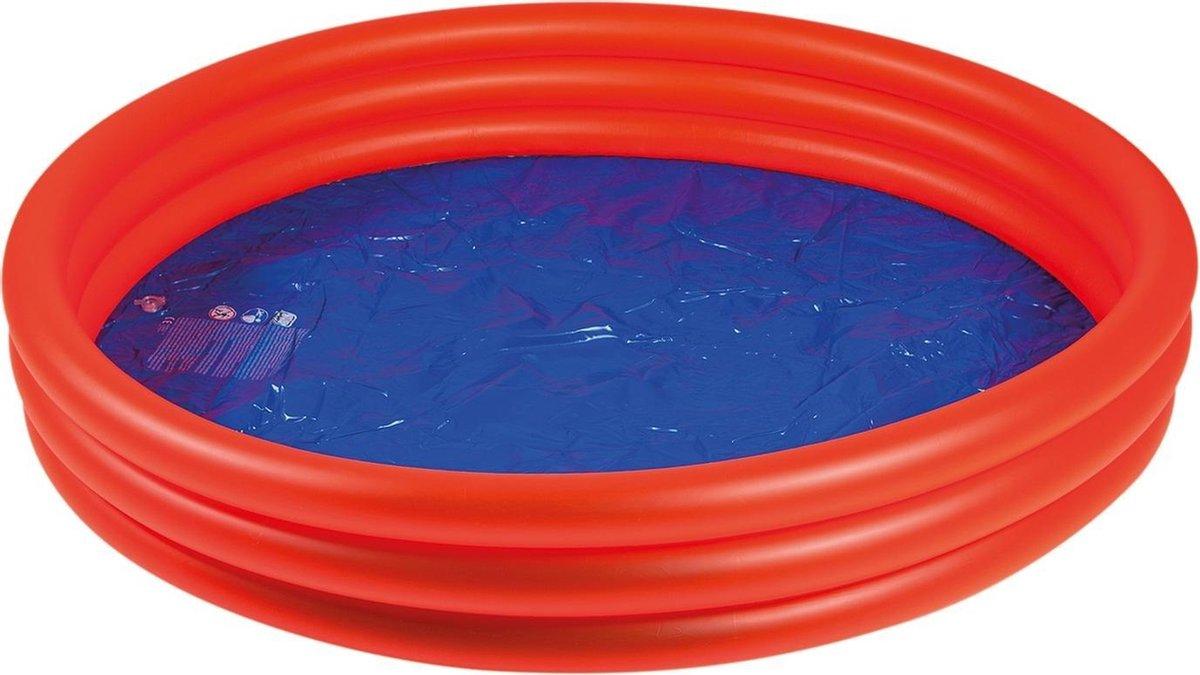 Wehncke Opblaaszwembad Junior 175 X 175 Cm Pvc Rood/blauw