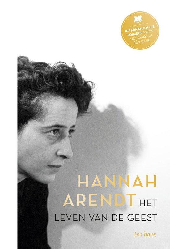 Boek cover Het leven van de geest van Hannah Arendt (Onbekend)
