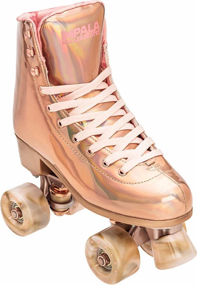 Impala Rollerskates shaka diverse > rollerskates Quad Skate - Marawa Rose Gold 38