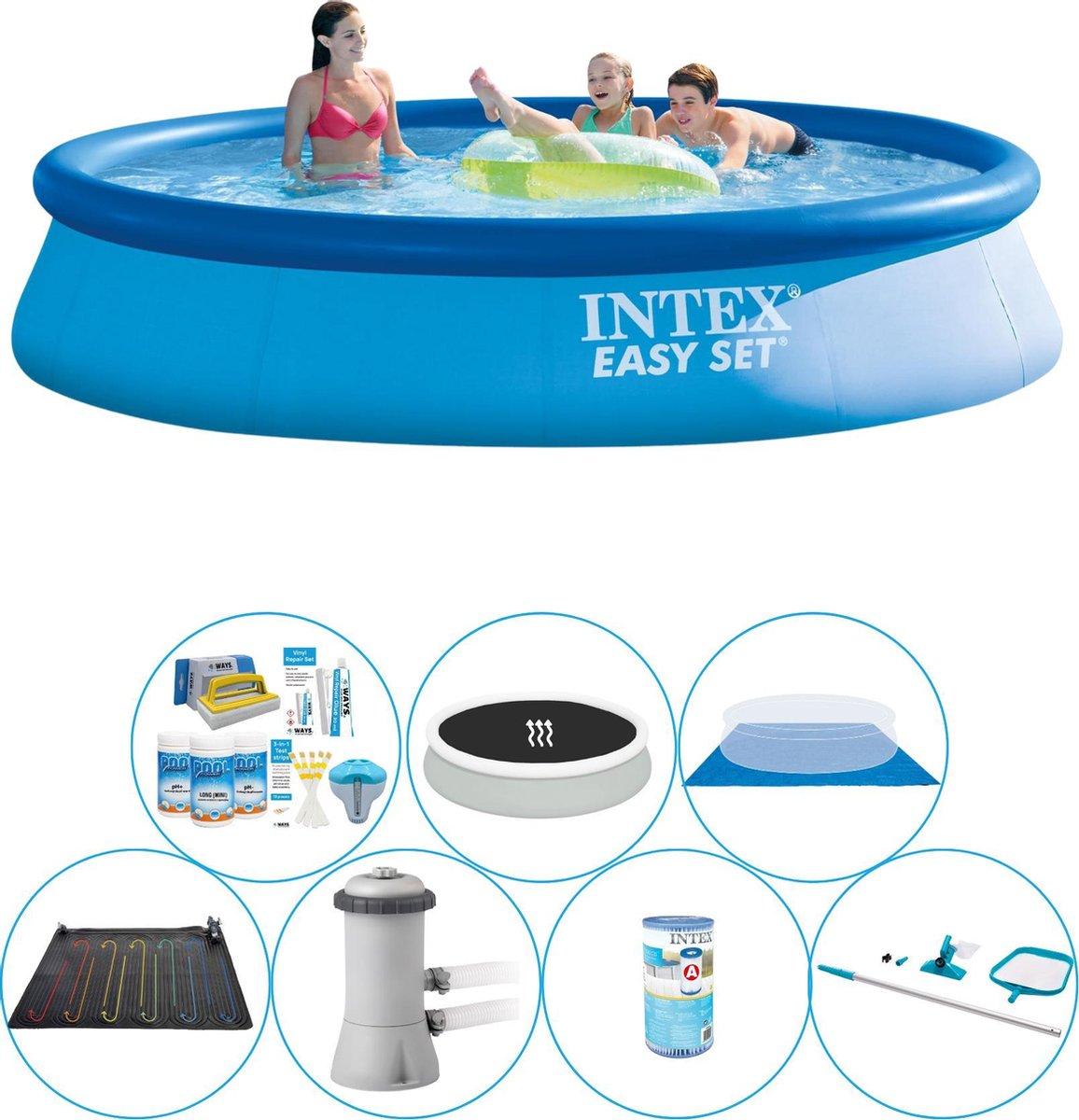 Intex Easy Set Rond 396x84 cm - Zwembad Comfort Pakket