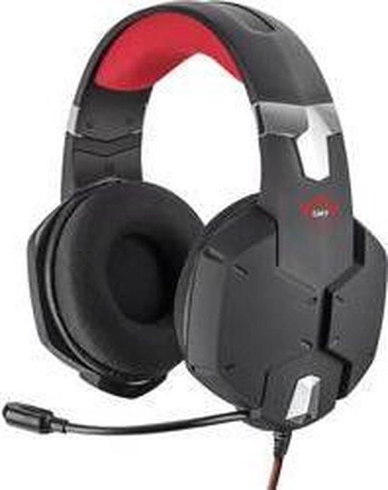 Trust GXT 322 Carus - Gaming Headset - Geschikt voor PS4, PS5 en PC / Zwart