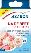Azaron pleister na de beet  - Verzacht bij muggenbeet & insectenbeten -  30 pleisters
