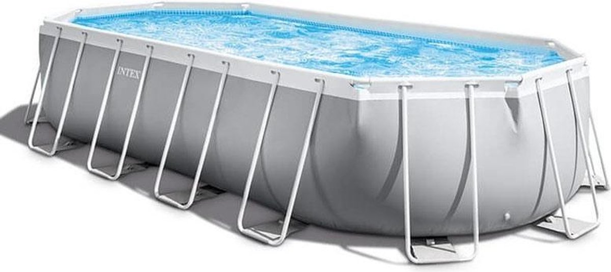 Intex Prism Frame zwembad - complete set met zeilen, filter en trap - 610x305x122cm