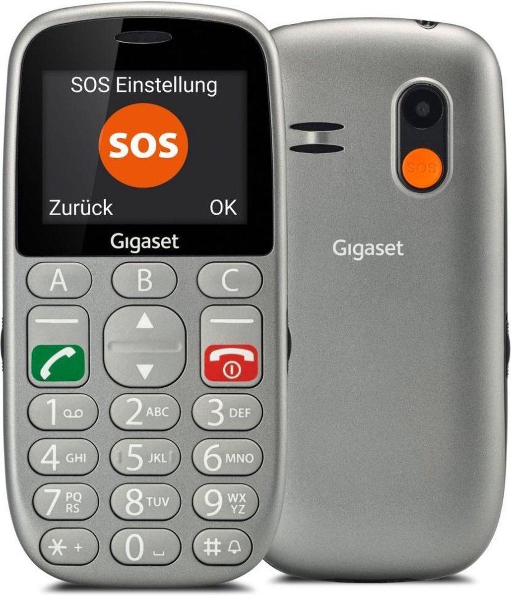 Gigaset GL390 – Met alarmfunctie – Met Oplaadstation – Grijs