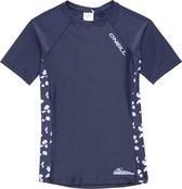 O'Neill - UV-shirt met korte mouwen voor meisjes - Print - Donkerblauw - maat 126-134cm