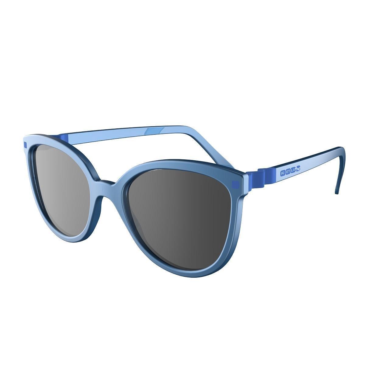 Ki Et La - UV-zonnebril voor kinderen - BuZZ - Blauw - maat Onesize (6-9yrs)