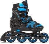 Roces Jokey 3.0 Skeelers / Inline Skates - Zwart/Blauw - Kinderen - Verstelbaar - Maat 38/41