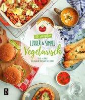 Boek cover Lekker & simpel Vegetarische recepten van Sofie Chanou (Paperback)
