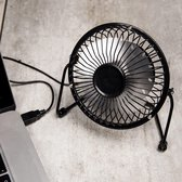 Usb Ventilator - Zwart - Kikkerland