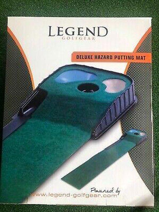 Legend putting mat