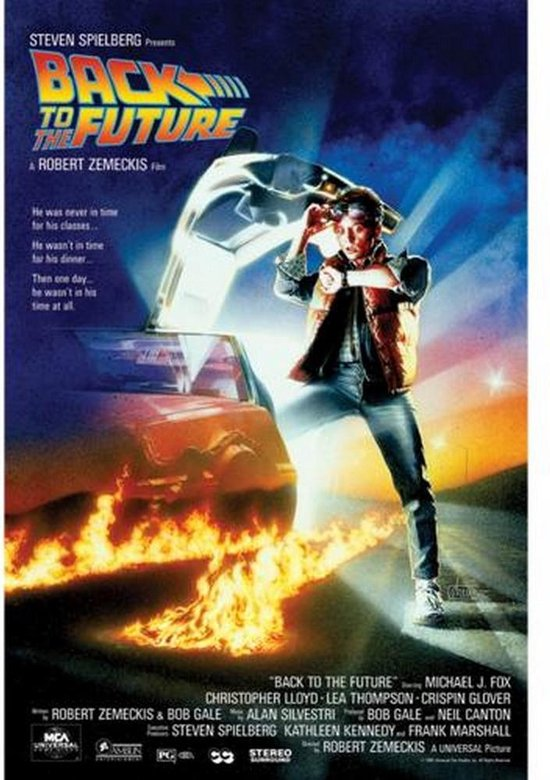 Back To The Future - Poster - 61 x 91 cm