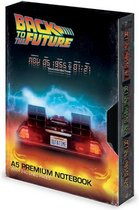 Back To The Future VHS Style Premium Notebook (Black)