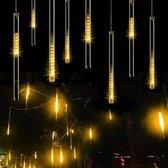 Kerst - LED Meteoorregen Buis - 20 cm - Warm Wit
