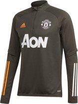 Adidas Adidas Manchester United Trainingstop Grijs Heren