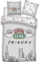 Friends Dekbedovertrek Central Perk - Eenpersoons - 140  x 200 cm - Polyester