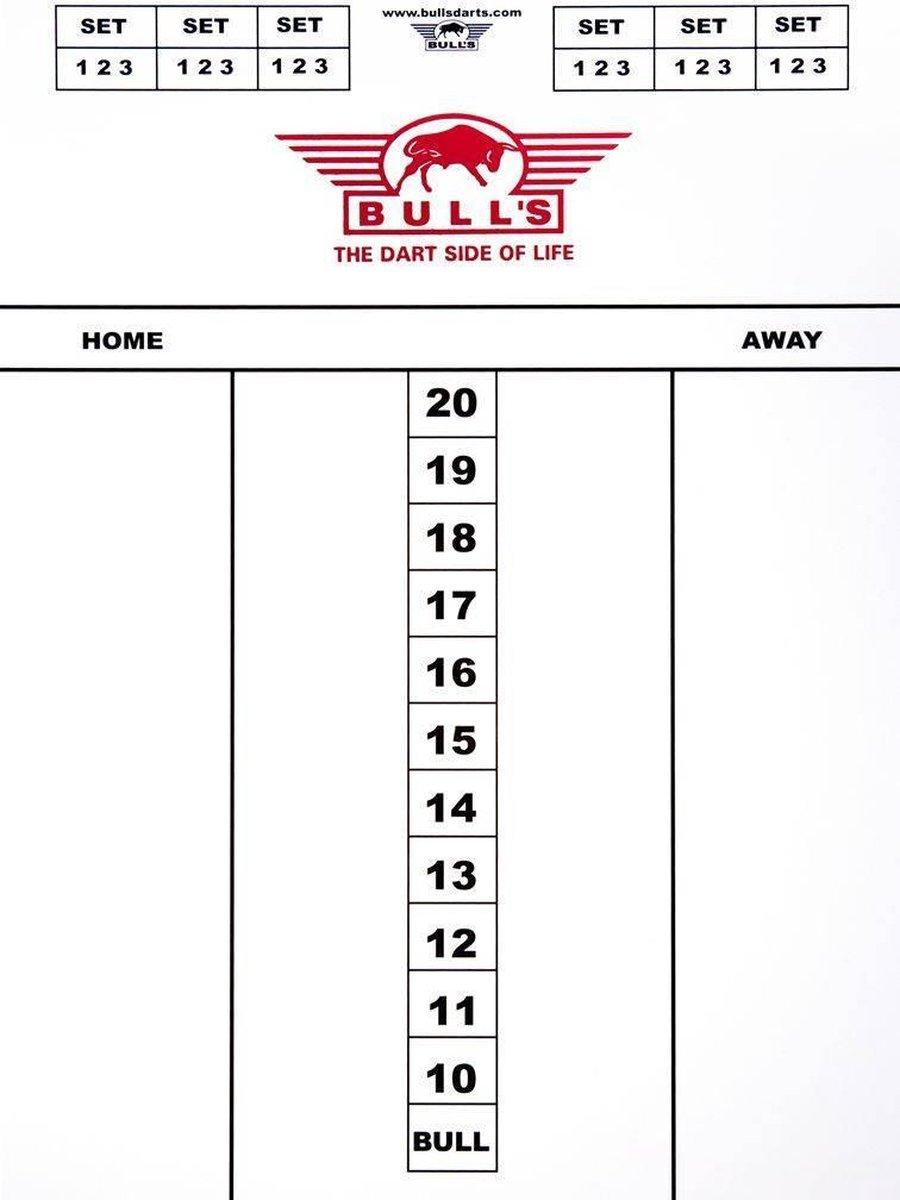 BULL'S BULL'S flexibel scorebord 60 x 30 cm