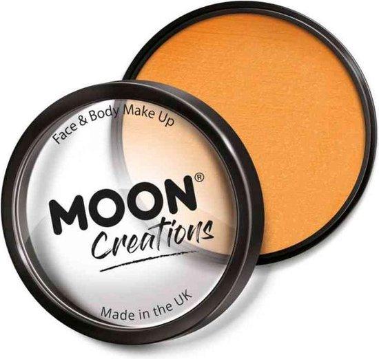 Moon Creations Schmink Pro Face Paint Cake Pots 36 Gram Oranje