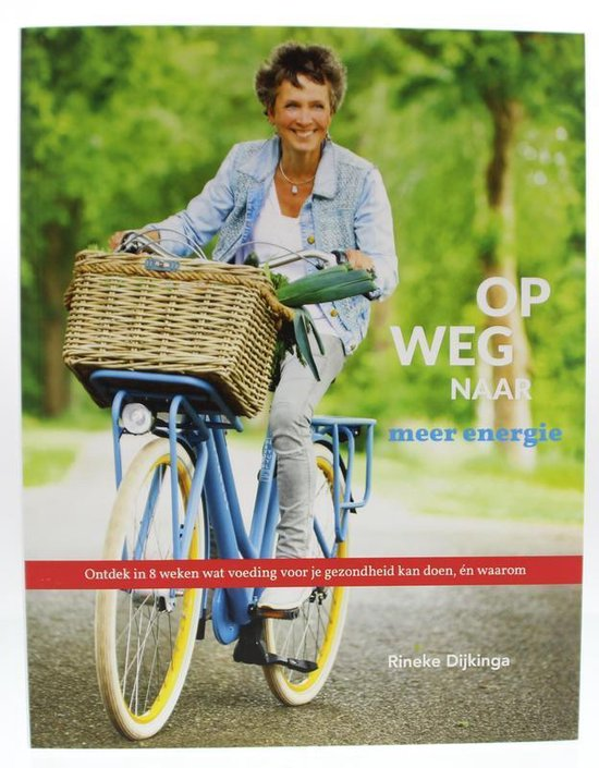 Boek cover Op weg naar meer energie van Rineke Dijkinga (Paperback)