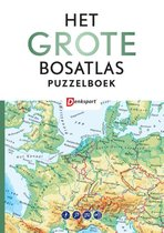 Het Grote Bosatlas puzzelboek - Denksport- editie 1 cover